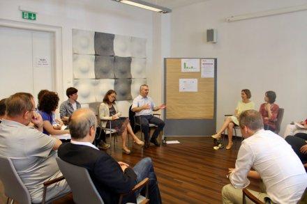Diskussion im Workshop 2 - SEFIPA